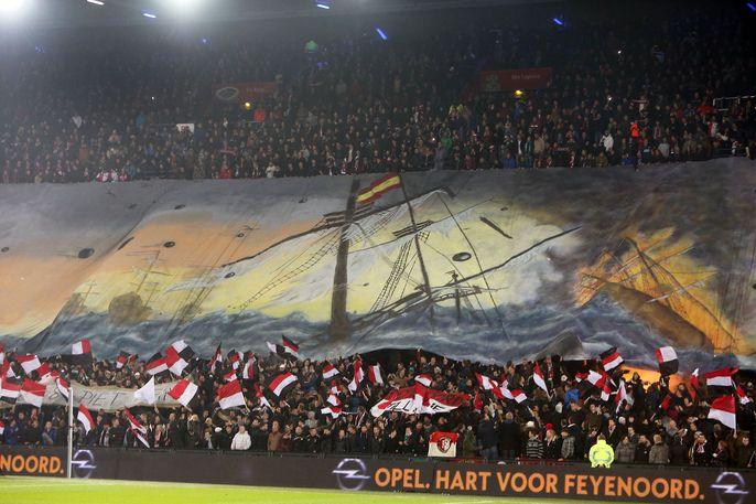 Feyenoord spreekt waardering uit voor grootse sfeeractie - Nieuwsoverzicht - Nieuws - Feyenoord