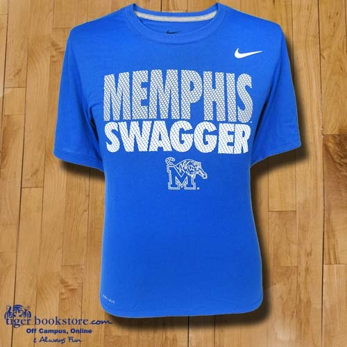 Show your Memphis swagger with this new Nike Dri-Fit® tee.  #tigers