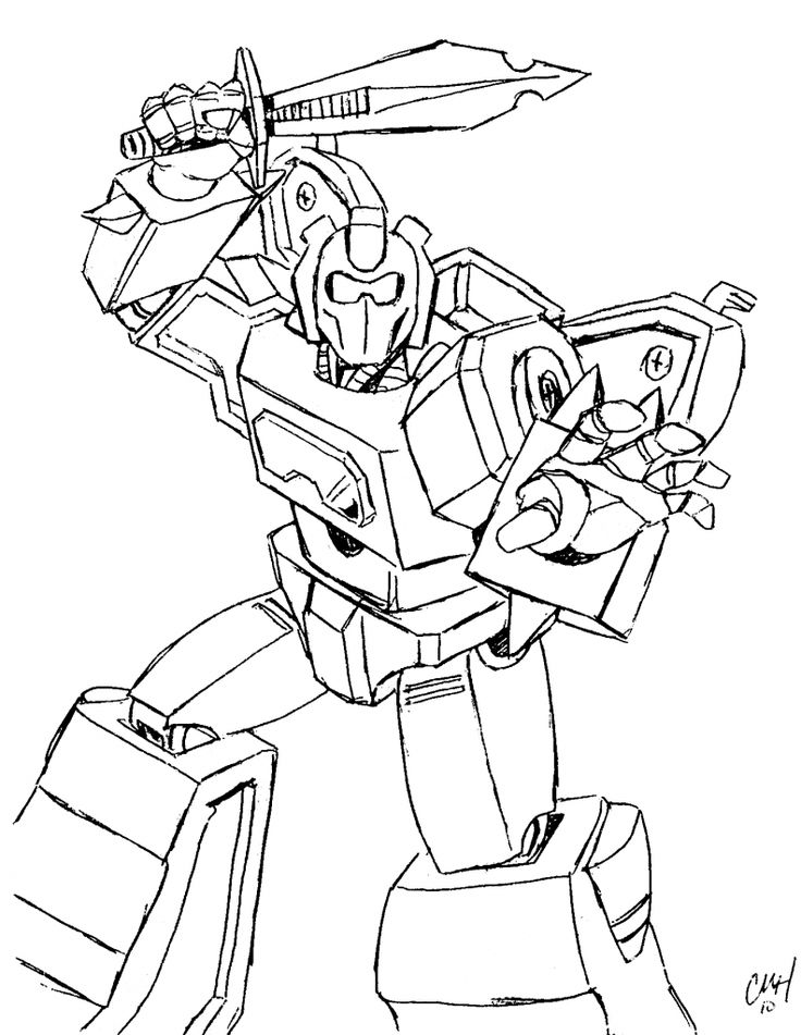 new transformers coloring pages - photo #50