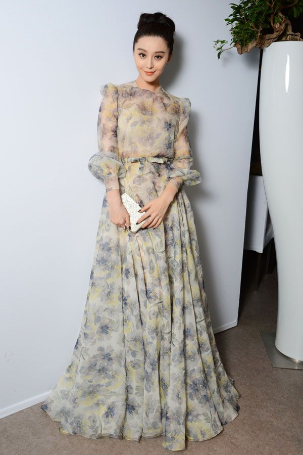 Fan Bing Bing in Valentino Haute Couture at the Cannes Film Festival, May 2012
