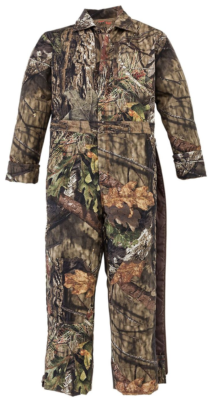 redhead silent hide insulated coverall for youth bass on insulated overalls id=31419