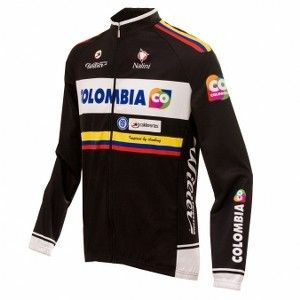 Nalini Colombia Pro Team Long Sleeves Jersey - Store For Cycling