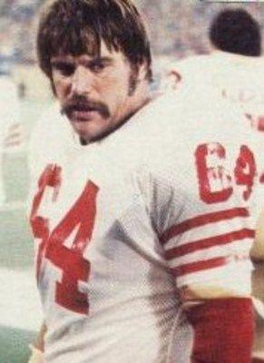 """49er Nation SF Niners San Francisco 49ERS Niners for Life! Jack """"Hacksaw"""" Reynolds"""