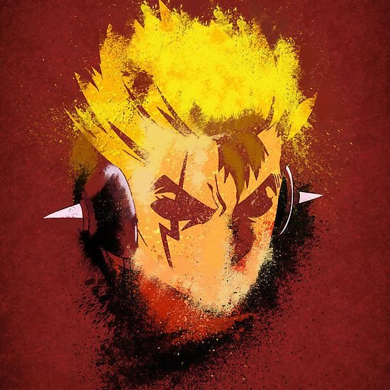 Laxus Grunge from fairy tail Available as T-Shirts & Hoodies, iPhone &…