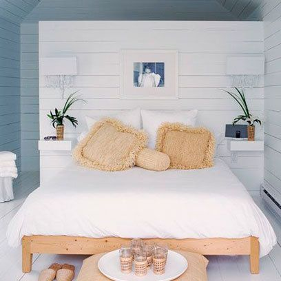 Wooden panelling | White Bedroom Decorating Ideas | Interiors | redonline.co.uk