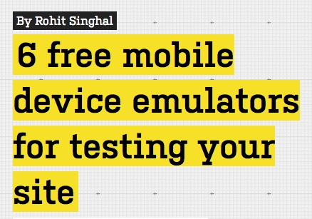 6 free mobile device emulators for testing your site. http://www.webdesignerdepot.com/2012/11/6-free-mobile-device-emulators-for-testing-your-site/#