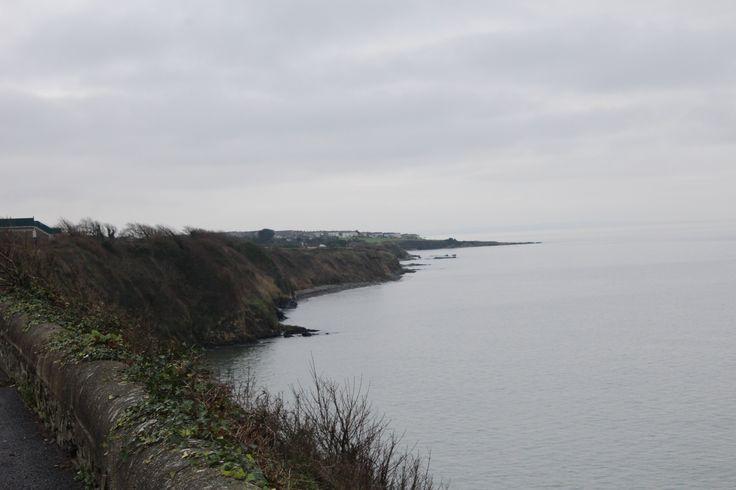 View of coastline at Skerries, Co. Dublin