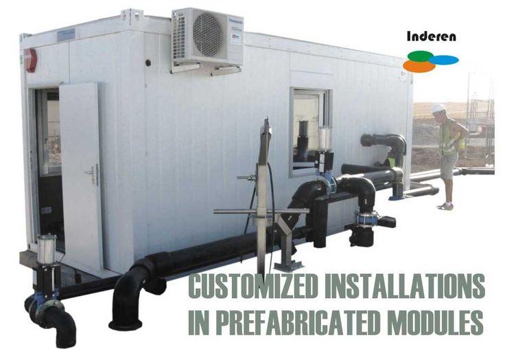 customized installation prefabricated modules biogas