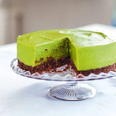 Avocado-Limetten-Cheesecake | BRIGITTE.de