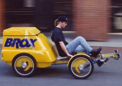 Brox cargo quadricycle
