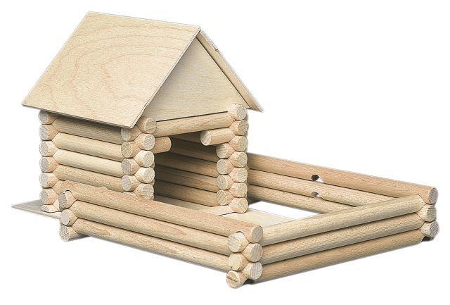 Dřevěné stavebnice pro kluky