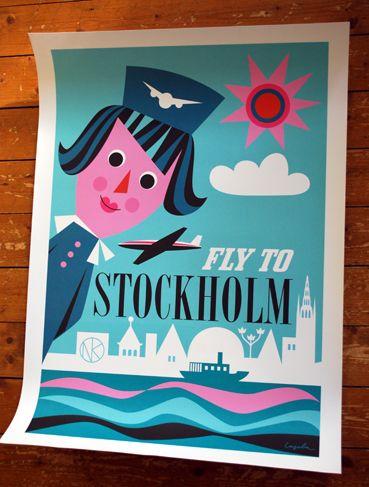 Stockholm poster Ingela P Arrhenius
