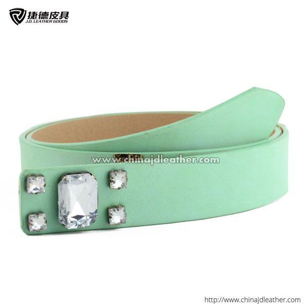 Women pu belt without buckle-JDLA13333
