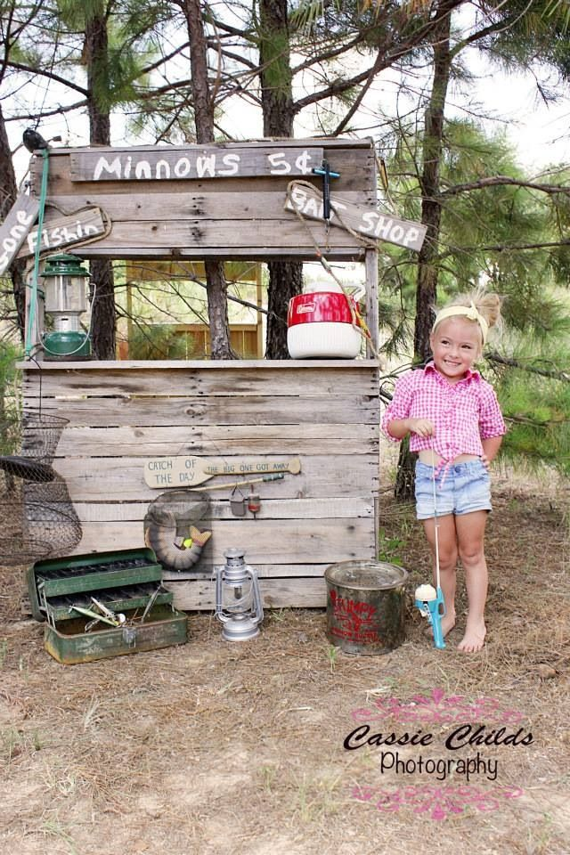 17 best ideas about 2nd birthday photography on pinterest for Fish bait store