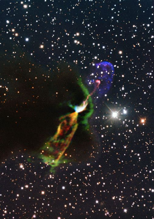Witness the birth of a star   this system is very similar to the most remote low-mass stars during their formation and birth. However, it is also quite unusual because the expelled cloud flow impacts directly on one side of the young star and goes out of the cloud on the other. This makes it ideal for studying...