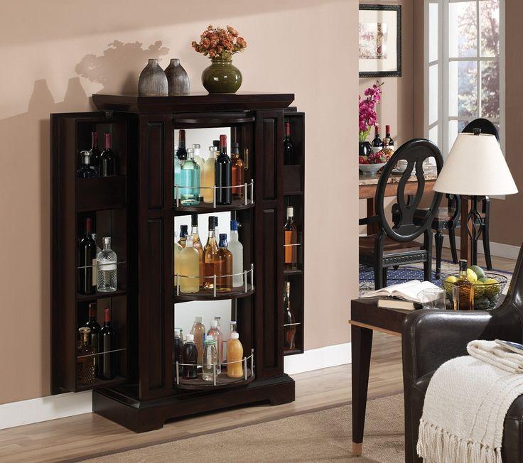 Image of: Amazing Locking Liquor Cabinet