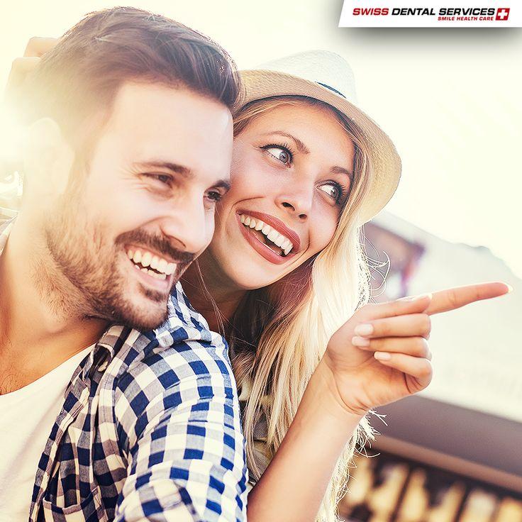 Le sourire est un puissant antidote contre le stress et les soucis ! Lorsque vous riez, vous gagnez en bonheur. www.swissdentalservices.com/fr