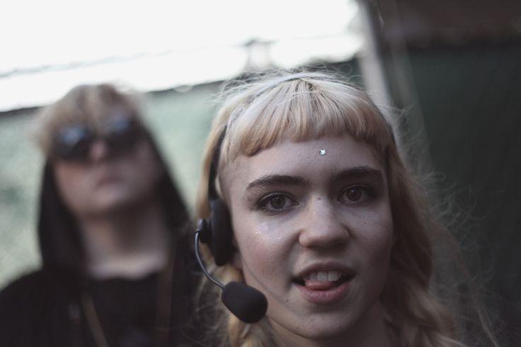 Grimes at 2012 Pitchfork Music Festival by Erez Avissar