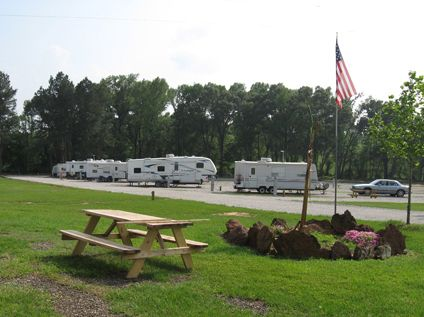 Big Cypress RV Park At Pittsburg Texas