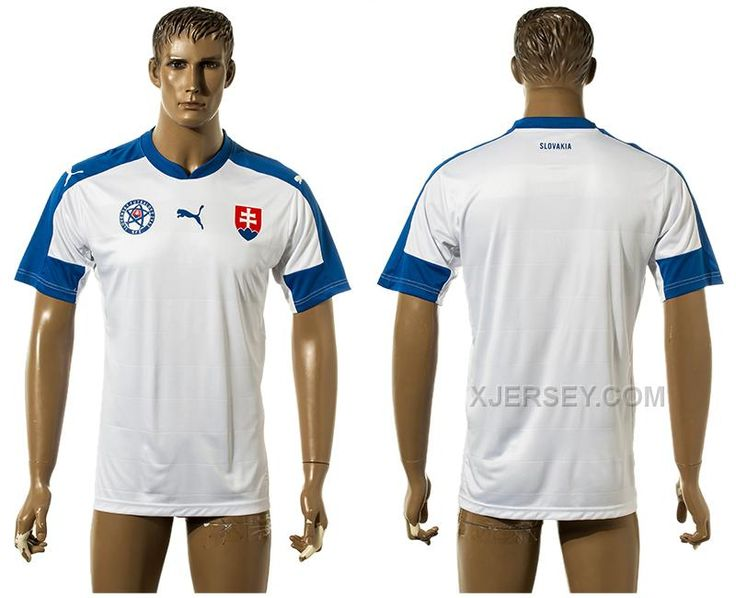 http://www.xjersey.com/slovakia-home-euro-2016-thailand-jersey.html SLOVAKIA HOME EURO 2016 THAILAND JERSEY Only $35.00 , Free Shipping!