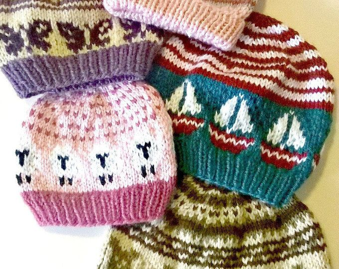 Patterned Hats.