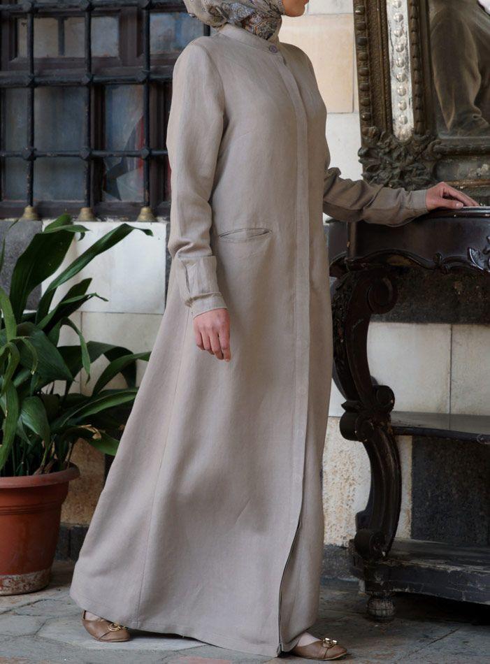 SHUKR USA | Classic Shirt Dress Jilbab
