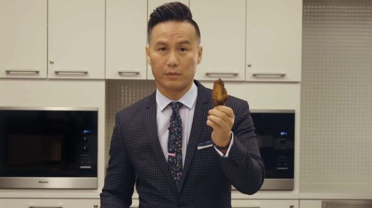 BD Wong Teaches You How to Eat a Chicken Wing on video.gq.com