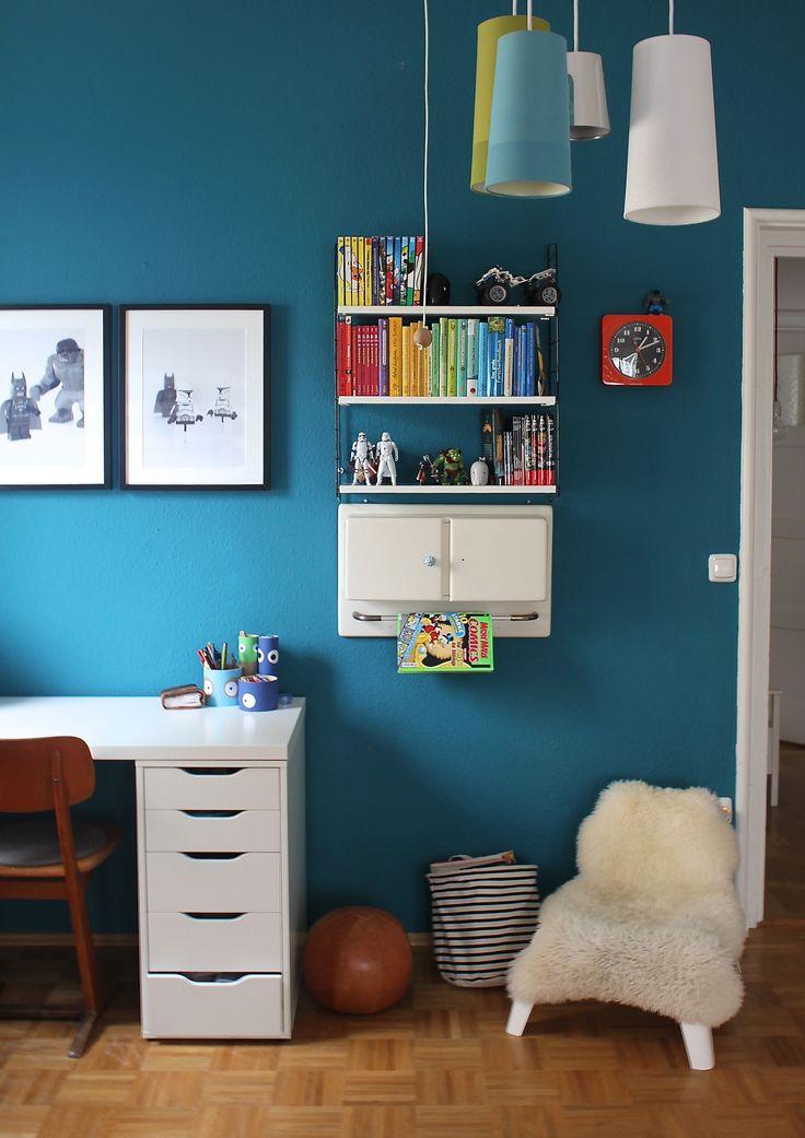 best 20+ farbige wände ideas on pinterest - Farbige Wandgestaltung