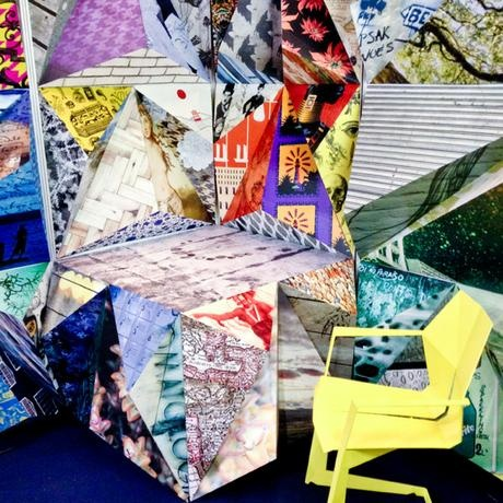 Blog - Robin Sprong Surface Designer: Design Indaba Stand 2013 for RSW- 3D wall display
