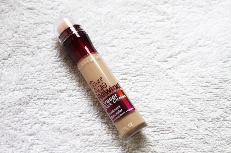 MAYBELLINE: INSTANT AGE REWIND CONCEALER | REVIEW // hannahsnotebook.net