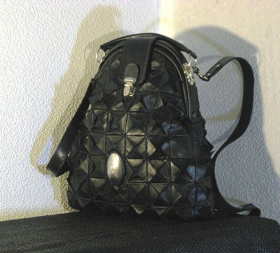 Backpack leather Gothic