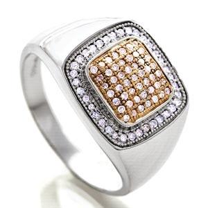 Stauer Buchanan Men's Diamond Ring