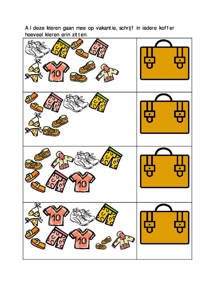 * Al deze kleren gaan mee op vakantie...1-2
