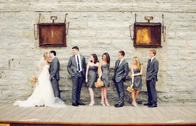 bridal party: Wedding Parties, Mills Cities, Cities Museums, Photos Ideas, Photo Ideas, Orange Weddings, Bridal Parties Photos, Parties Pictures, Minneapolis Wedding