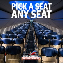 Southwest Rapid Rewards Offers Best Reward Seat Availability in the Industry!