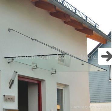 stainless steel door glass canopy 1 $70
