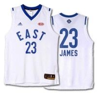All Star Game 2016 - Maillot NBA Lebron James East Blanc