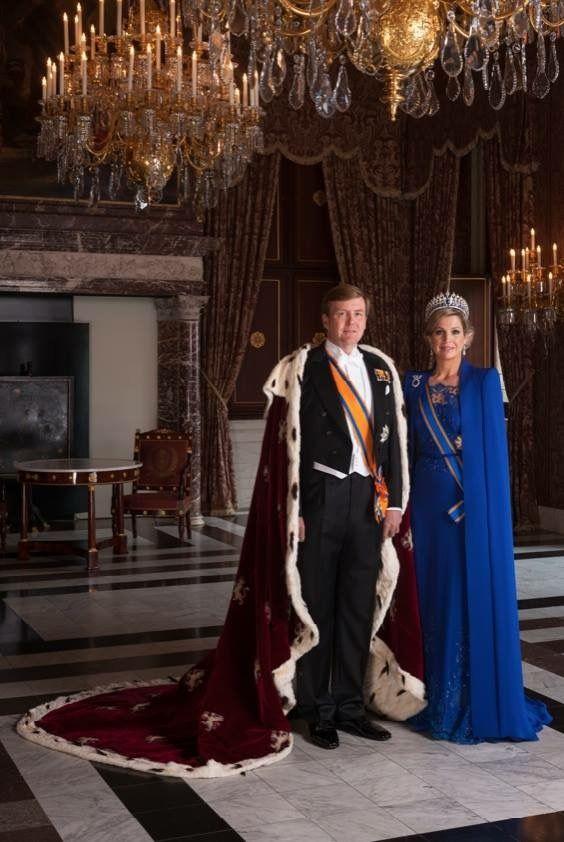 Dutch Kjng and Queen