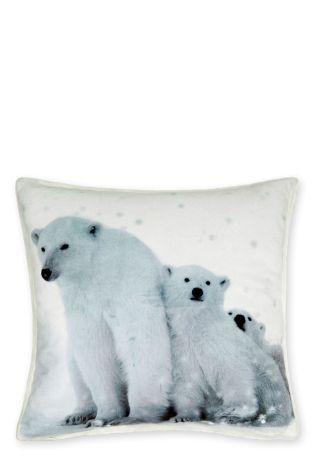 Next cushion polar bear
