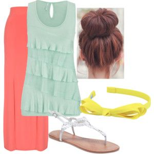 Cool Summer Outfit: