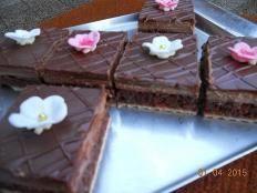 Čokoládový zákusok na oblátke - recept
