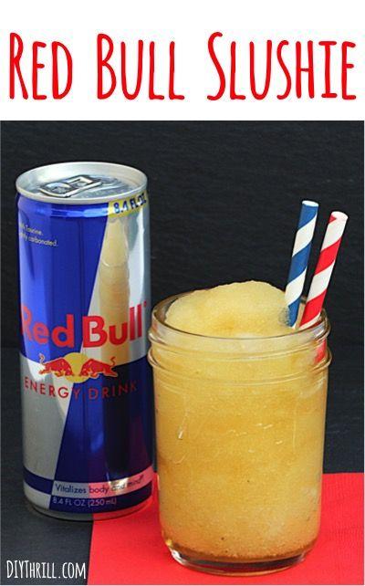 Red Bull Slushie Recipe