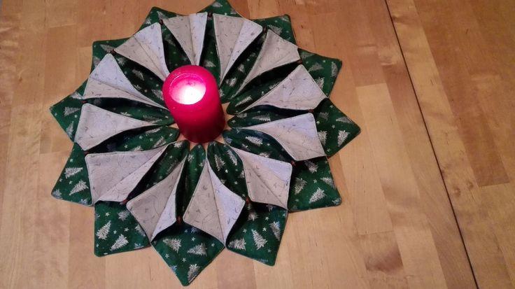 a teď něco vánočního :-) všichni to šijí, tak jsem to chtěla vyzkoušet