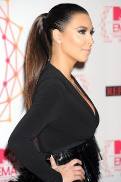 How To Do A Sleek Ponytail | Try these ponytail looks this summer. #refinery29 http://www.refinery29.com/mane-addicts/10