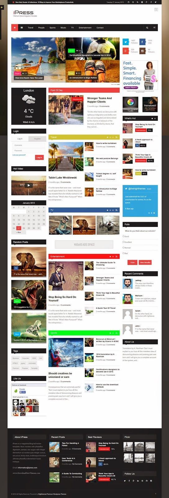 78 best WEBDESIGN - BLOG images on Pinterest | Design websites, Site ...