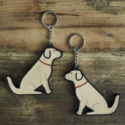 Golden Retriever Keyring £5.95 at www.twowoofs.co.uk