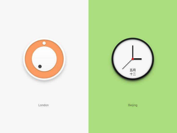 20 Awesome Graphically Designed Clocks