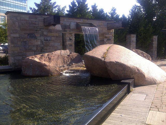 Millenium Park entry, Peterborough, Ontario