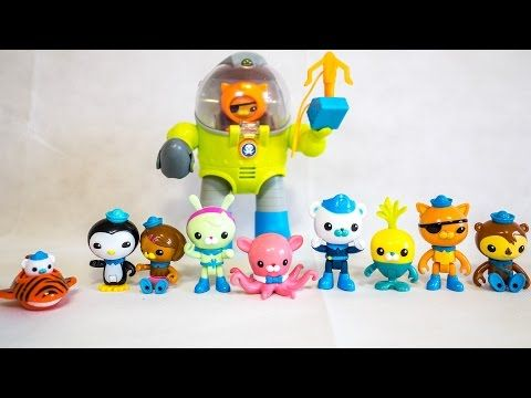 OCTONAUTS Disney Junior Octonauts Toys -Toys R Us Octonauts Suit - 디즈니 바다탐험대 옥토넛 장난감 - YouTube