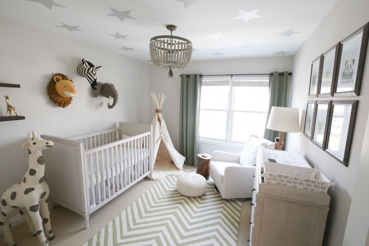 Themed Nursery For Baby Boy
